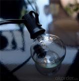 Banda de luces de Navidad para patio y exteriores G40