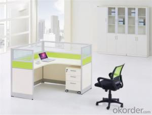 Steel and MFC Executive Desk for Two Persons