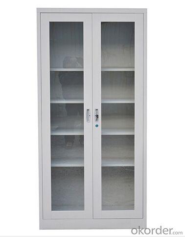 Steel  Cabinet  with Glass  Door CMAX-0033