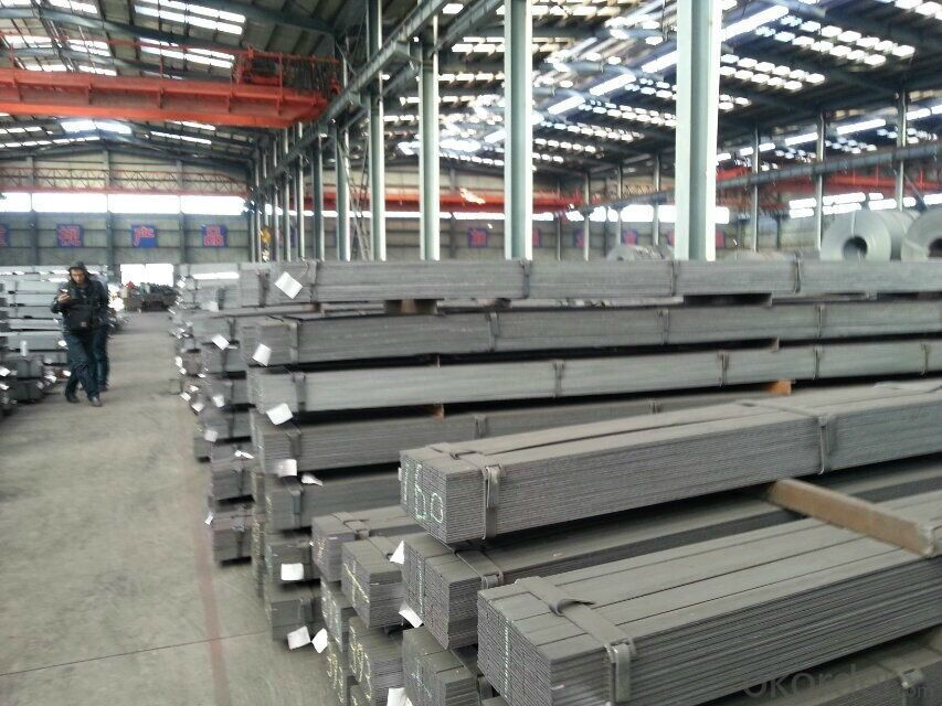 Spring Steel Hot Rolled Flat  Bar with high quality