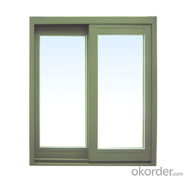 Thermal Insulation Aluminum Window Double Sash Casement Door Outward Door Double Door Design