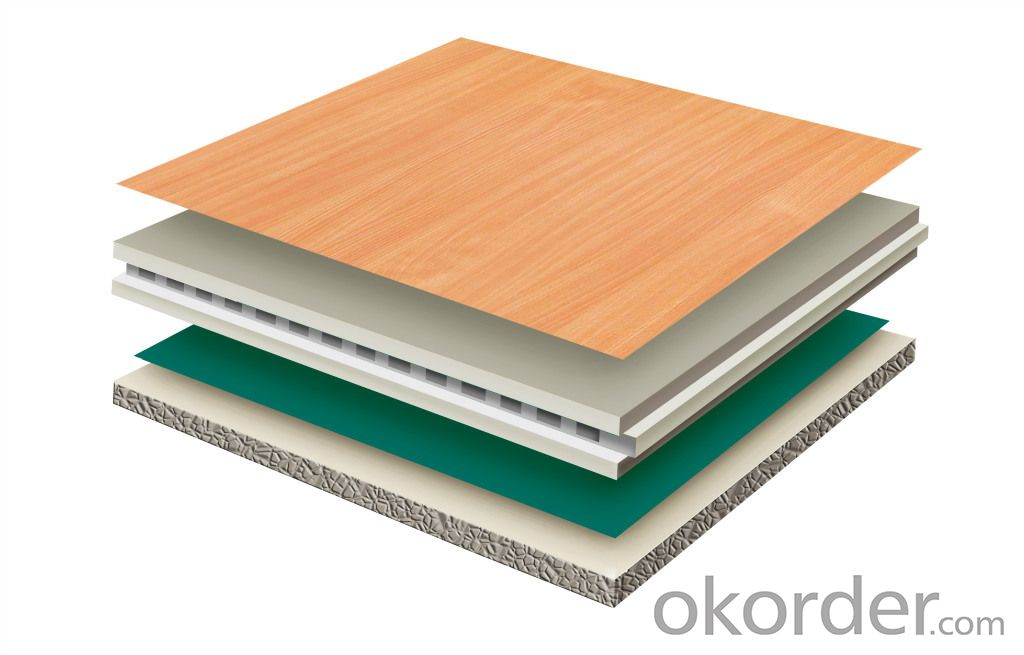 NVIROMENTAL-FRIENDLY PVC WOOD COMPOSITE FLOORING