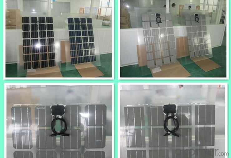 60w Small Solar Panels in Stock China Manufacturer