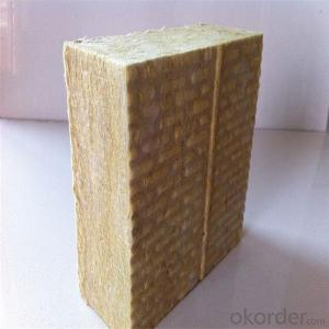 Low Thermal Conductivity Fireproof Insulation Rock Wool of Good Quality