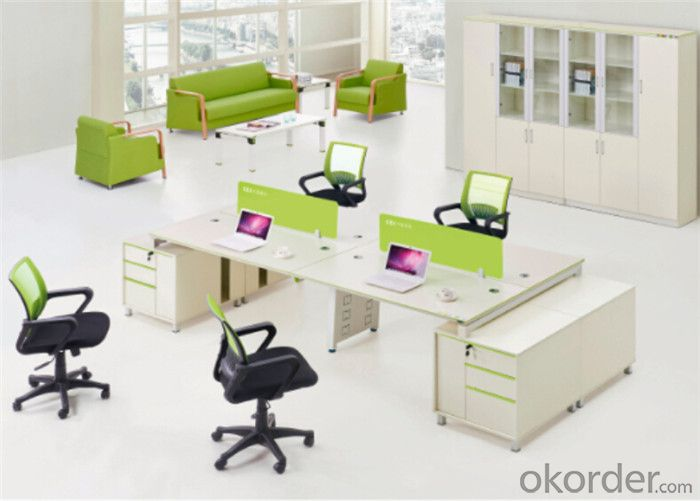 Steel Executive Desk with Customized Color