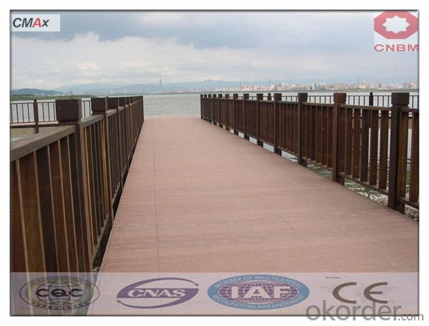 Wpc Wood Plastic Composite Decking Floor