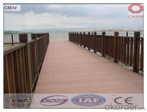 Crack-Resistant Outdoor Portable Co-extrusion Wpc Decking