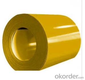 VERY SMOOTH COLOR COATED ZINC STEEL COIL