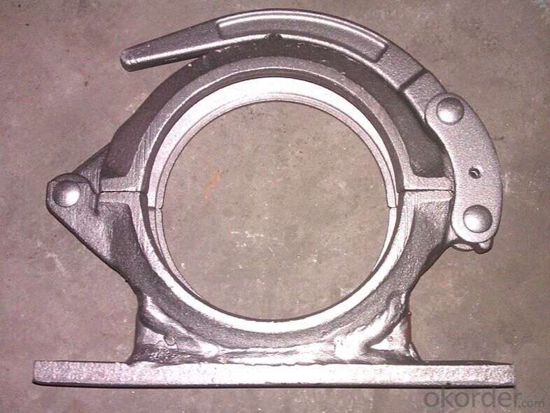 Concrete Pump Part Forged Clamp Coupling DN50