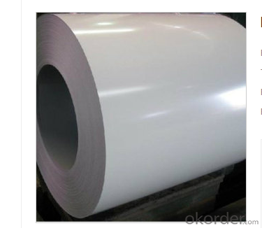 PVDF COLOR ZINC COATED STEEL SHEET IN COIL