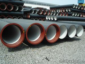 Duct Iron Pipe DI Pipe ISO 2531 DN 80-2000mm PN 40