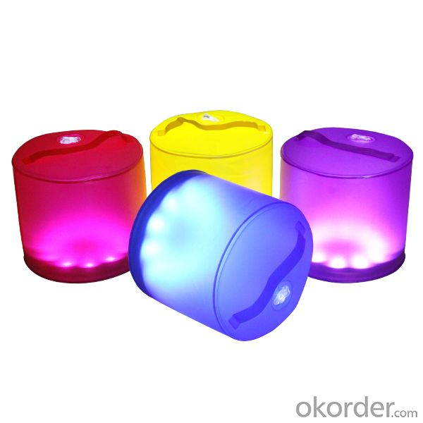 Colorful Fantasy Inflatable Solar Lantern