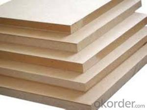 Factory Direct Sale 18mm Colorful Melamine Slotted MDF from CNBM