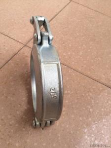 Concrete Pump Part Forged Clamp Coupling DN50