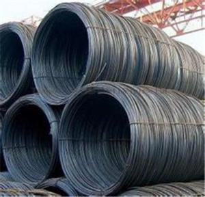 SAE1008 Steel Wire rod 6.5mm with Best Quality