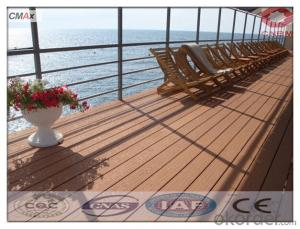 Outdoor WPC Decking/ Wood Plastic Composite Decking