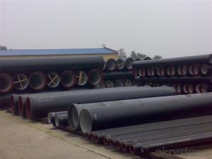 Duct Iron Pipe DI Pipe ISO 2531 DN 80-2000mm K12