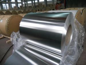 DC and CC 1/3/5/6/8series Mill Finish Aluminium coil