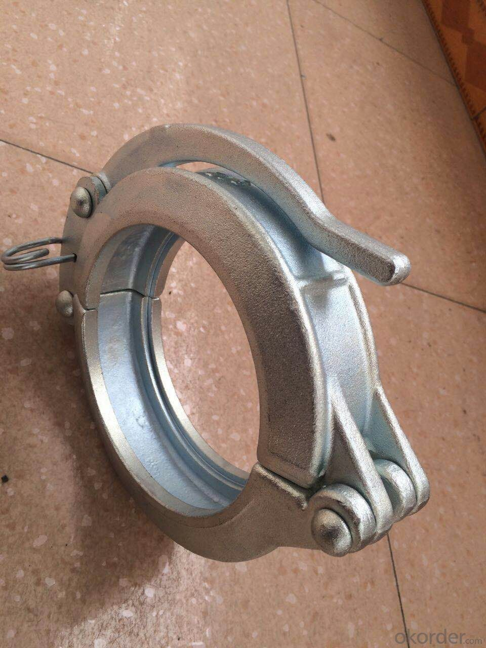 Concrete Pump Clamp Coupling zx125 Forged