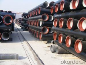 Duct Iron Pipe DI Pipe ISO 2531 DN 80-300mm