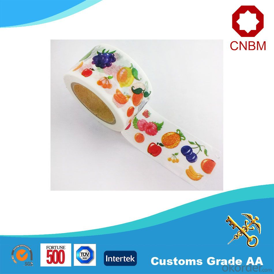 Washi Tape CMYK Colorful Design High Quality