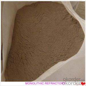 Mesh Shape Castable For Fireplace and Industrial Furnace
