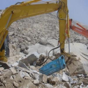 Excavator Rock Hammer / Hydraulic Breaker from China