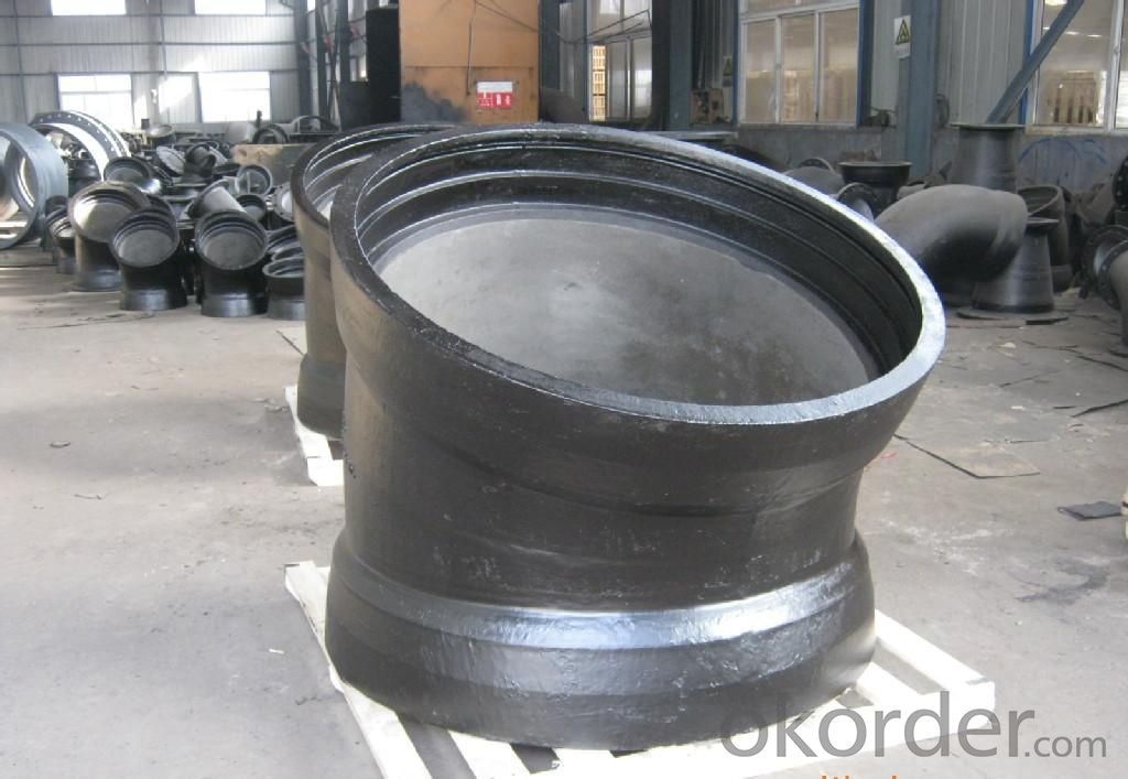 Duct Iron Pipe DI Pipe ISO 2531 DN 80-2000mm Mechnical Joint K Type