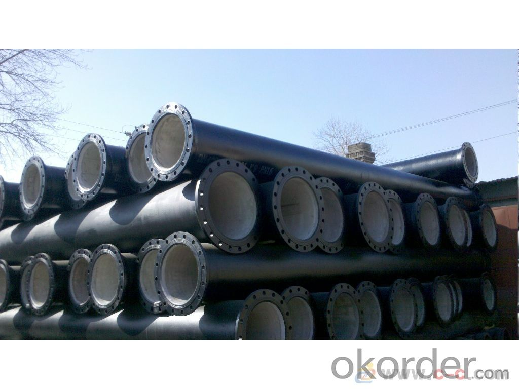 Duct Iron Pipe DI Pipe Flange Pipe with Screwed ISO 2531