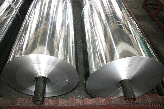Household Aluminium Foil/ Aluminum Foil Manufacturer for Flexible Duct and CCable Shielding