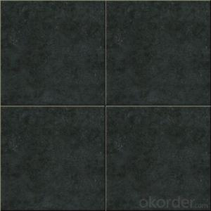 Ceramic Tiles for Living Room and Bathroom Stair Nosing Black Color
