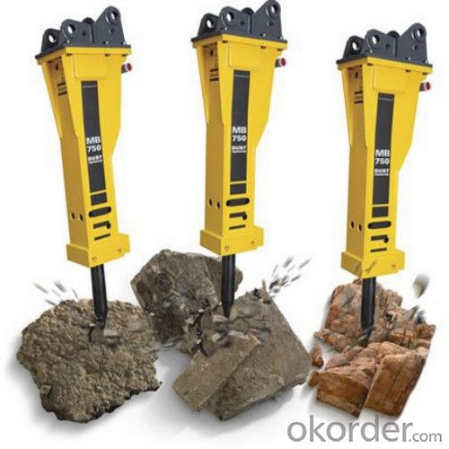 Excavator Mounted Hydraulic Concrete Breaker High Quality
