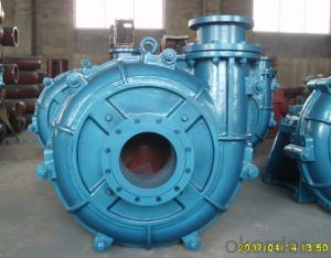 Centrifugal Slurry Pump for Mining and Water