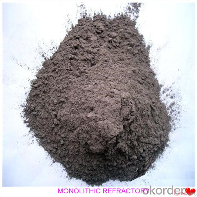 Dense Castable For Fireplace and Industrial Furnace in Iron and Steel