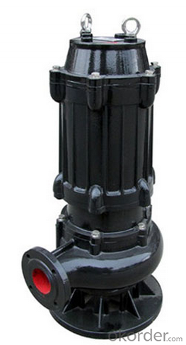 Iron Ore Reclamation Heavy Duty Submersible Slurry Pump
