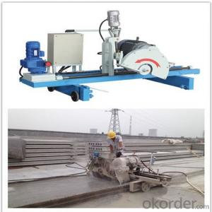 Automatic Precast Concrete Hollow Core Slab Saw