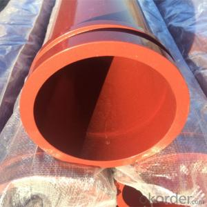 Concrete Pump Seamless Steel Pipe with SK Flange End
