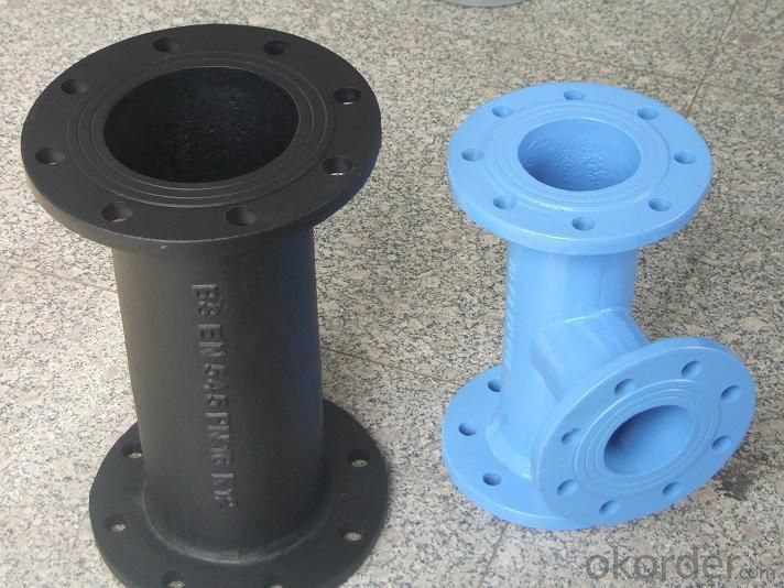 Buy duct iron pipe di flange with cast iso