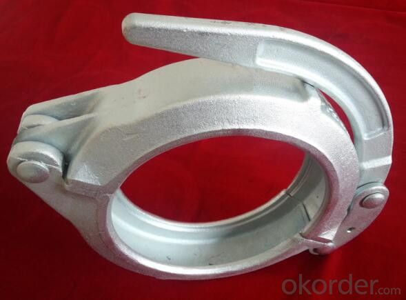 Concrete Pump Clamp Coupling DN100 Forged