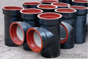 Duct Iron Pipe DI Pipe Flange Pipe with Welded ISO 2531 EN545