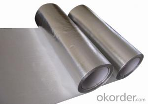 Household Aluminium Foil/ 3105 Aluminium Foil Use for Roof Insulation Aluminium Foil