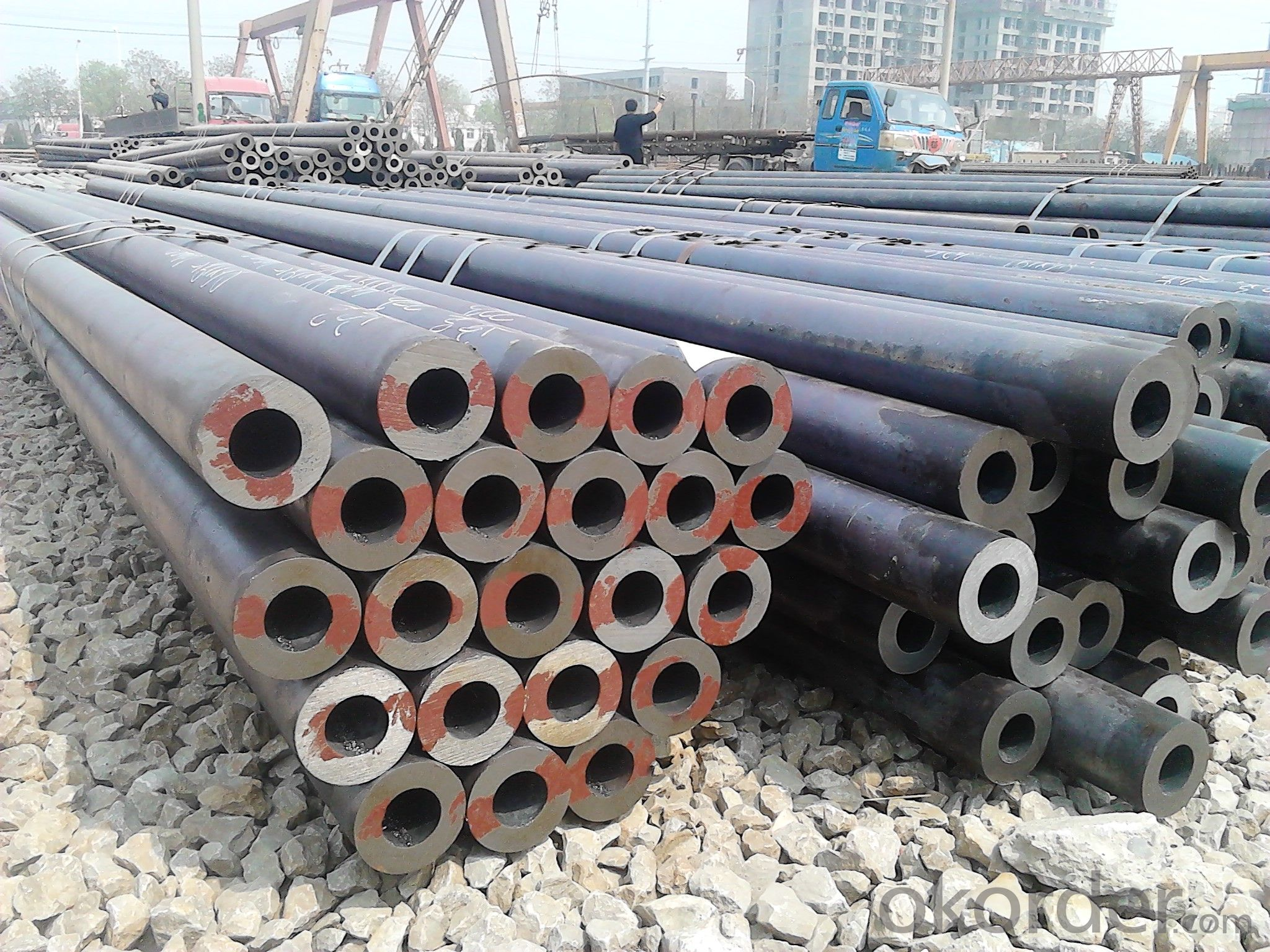 ASME API 5L Galvanized Seamless Carbon Pipes