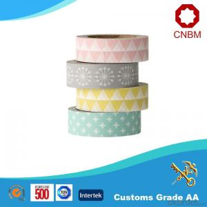 Washi Tape with Rice Paper Made in China DIY