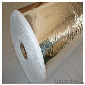 China Aluminum Foil Laminated Cryogenic Insulation Paper