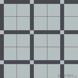 GA12A 100*100mm Outdoor Floor Plaza Ceramic Tiles