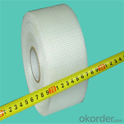 Fiberglass Adhesive Tape 55g/m2 8*8/inch High Strength With Good Price