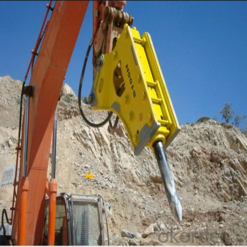 Powerful Hydraulic Breaker Hb 680 to Break Hard Rock