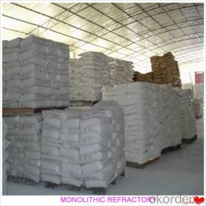 High Alumina Castable For Fireplace and Industrial Furnace in Iron and Steel