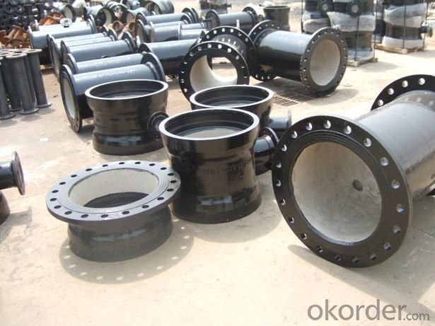 Duct Iron Pipe DI Pipe ISO 2531 DN 80-2000mm Flanges