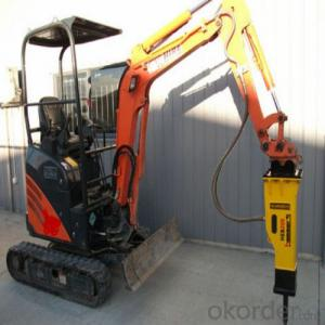 Excavator Mounted Breaker from China Diameter 68-135mm